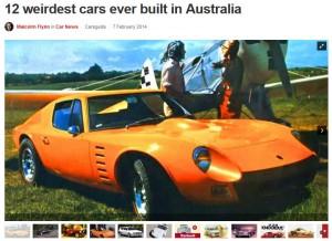 12 weirdest cars ever built in Australia