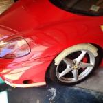 On site wheel repair.