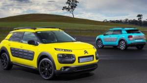 Citroen's 'Cactus'. Fancy driving around in bubble wrap?