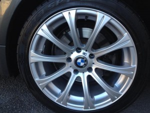 Repaired and Refurbished Wheels - AFTER