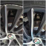 Tricky wheels to repair - before and after!